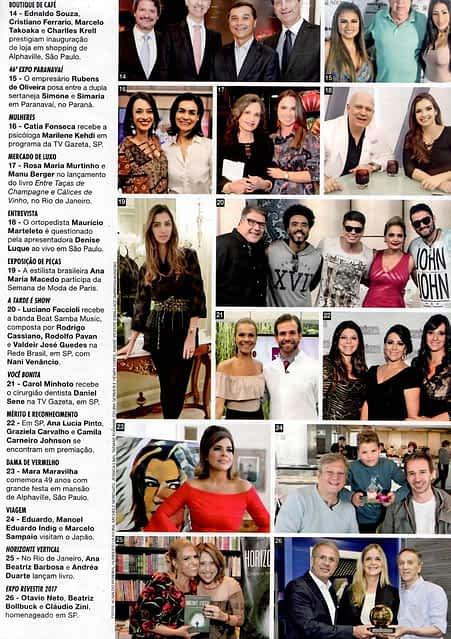 Revista Caras Abril - Dr. Daniel Sena